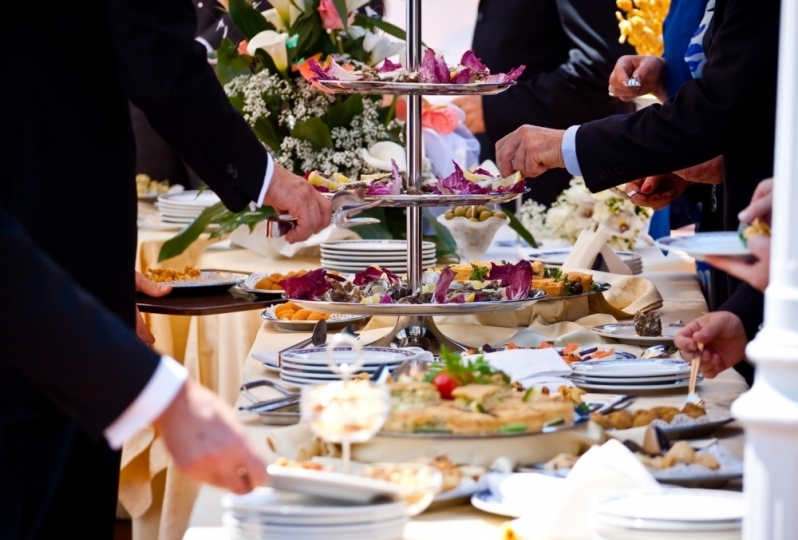 Coquetel para Casamentos Vila Roli - Coquetel para Eventos
