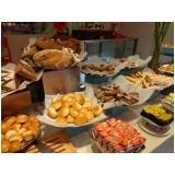 buffet coquetel de salgados preço no Jardim Maria Emília