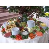 buffet de coquetel completo preço na Vila Elvira