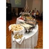 buffet de jantar de casamento preço Vila Araci