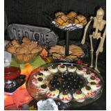 buffets coquetel de salgados na Vila Ipê