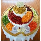 buffets de almoço de aniversário Chácara Flora