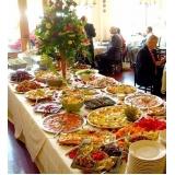 buffets de almoço para eventos Chácara Lane