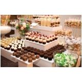 buffets de jantar de casamento Vila Olinda