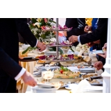 coquetel para boda de prata Jardim Heliomar