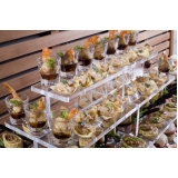 kit buffet para festa na Chácara Flora