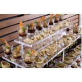 orçamento de buffet de almoço para casamento simples Vila Augusto