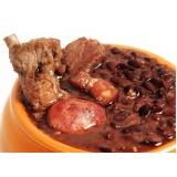 quanto custa buffet com feijoada Chácara Maranhão