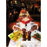 quanto custa buffet coquetel com jantar na Vila Castelo