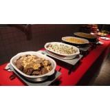 quanto custa buffet de almoço na Vila Santa Eulalia