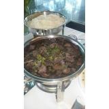 quanto custa buffet de feijoada para aniversário Jardim Caravelas