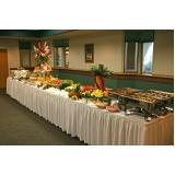 quanto custa serviço de buffet de almoço Jardim Flórida
