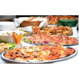 serviços de jantar empratado Vila Matias